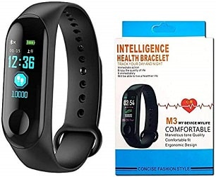 DWC Smart Fitness Band M3 with Heart Rate Monitor