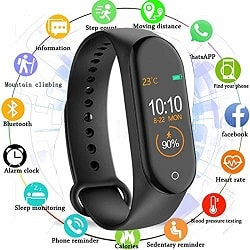 MARVIK Smart Fitness Band with Activity Tracker