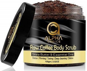 Alpha choice body scrub