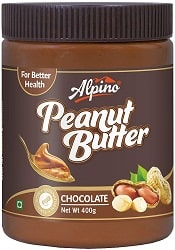 Alpino Peanut Butter Chocolate 400 G