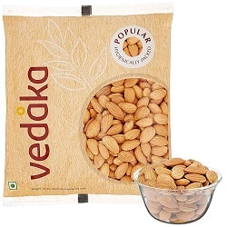Amazon Brand - Vedaka Popular Whole Almonds