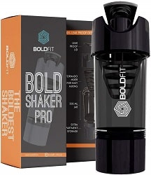 Boldfit Gym Protein Shaker Bottle