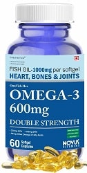Carbamide Forte Omega 3 Fish Oil 1000mg Double Strength