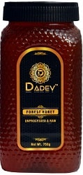 DADEV Organic and Raw Forest Honey