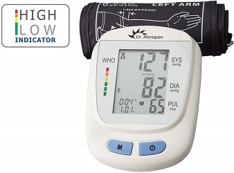 Dr Morepen fully automatic blood pressure monitor