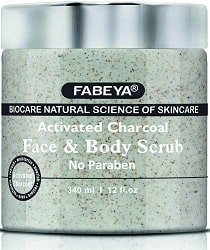 FABIA Biocare Natural Activated Charcoal Face and Body Scrub
