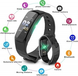 FRYSKA C1 Plus Smart Bracelet