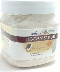 GEM BLUE BioCare De-Tan Scrub