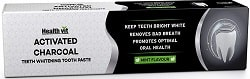 Healthvit Activated Charcoal Toothpaste For Teeth Whitening