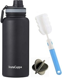 InstaCuppa Thermos Protein Shaker Bottle