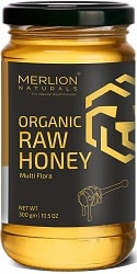 MERLION NATURALS - Organic Raw Honey