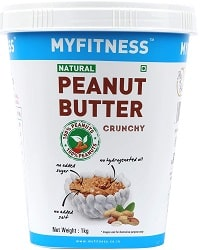 MYFITNESS Gold Natural Peanut Butter