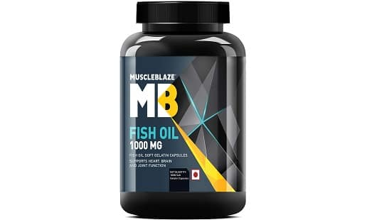 MuscleBlaze Omega 3 Fish Oil 1000 mg