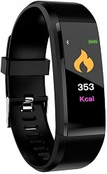 SM NATURES Smart Band Fitness Tracker Watch