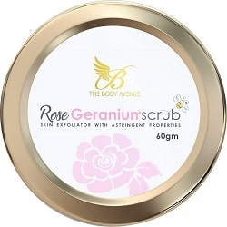 The Body Avenue Gernaium Scrub For Exfoliation