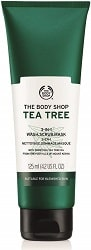 The Body Shop Tea Tree 3 in 1 Wash Scrub Mask