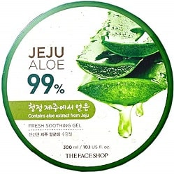 The Face Shop Non-Sticky Transparent 3 in 1 Aloe Fresh Soothing gel
