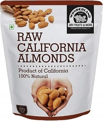 WONDERLAND FOODS (DEVICE) California Raw Almonds