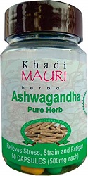 Khadi Mauri Herbal Ashwagandha