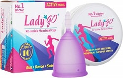 Lady Go Reusable Menstrual Cup