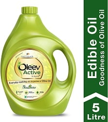 Oleev Active, with Goodness of Olive Oil Jar