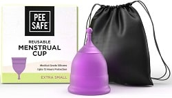 Pee Safe Menstrual Cups for Women