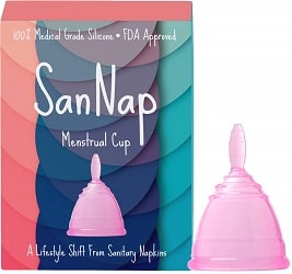 SanNap Menstrual Cup for Women