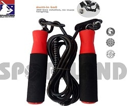 Sportland Fitness Jumping Adjustable Skipping Rope