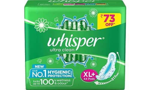 Whisper Ultra Clean Sanitary Pads