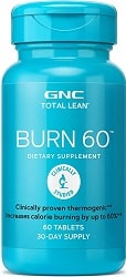 GNC Burn 60 Powerful thermogenic Tablets