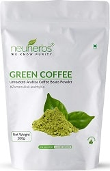 Neuherbs Green Coffee Beans powder