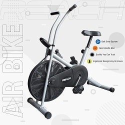 Reach Air Bike Exercise Home Gym Cycle