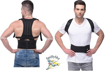 SpiffySky Posture Corrector Shoulder Back Support Belt